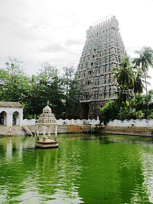 Mayuranathaswami Temple, Mayiladuthurai - Gopura of the Mayuranathaswami Temple
