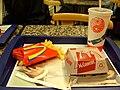 McDonald's McCountry meal, Wenceslas Square, Prague.JPG