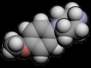 Para-Methoxyphenylpiperazine - Image: Me OPP3d