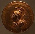 Medaglioni aurei romani da tesoro di aboukir, inv. 2425 alessandro in corazza ed elmo attico.jpg