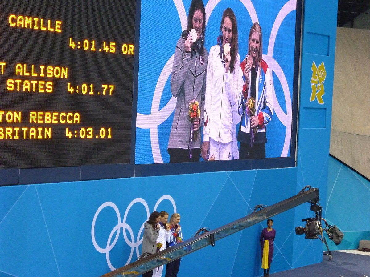 Swimming at the 2012 Summer Olympics – Women's 400 metre ...