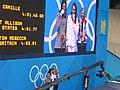 Medallistas de los 400m libre femenino en Londres 2012.jpg