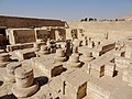Medinet Habu Ramses III. Tempel Sanktuar 03.jpg
