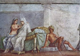Порнографические росписи помпеи