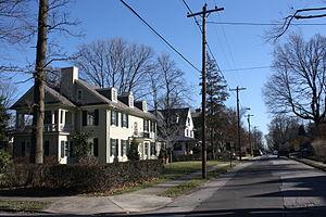 Melrose Park, Pennsylvania - Image: Melrose Ave, Melrose Park PA