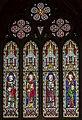 Melton Mowbray, St Mary's church, window (45562574292).jpg