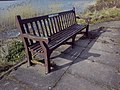 Memorial bench at Stapton Sands - 2018-03-10 - Andy Mabbett - 02.jpg