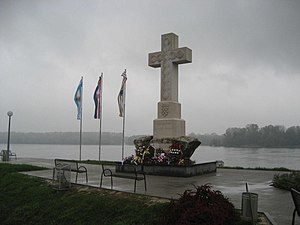 Memorial for the defenders of Vukovar, Croatia.JPG