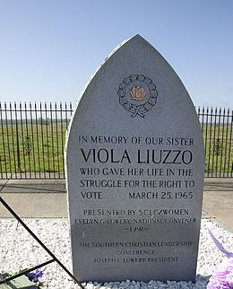 Memorial to Viola Fauver Gregg Liuzzo, (Lowndes County, Alabama).jpg