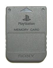 Memory Card for PlayStation