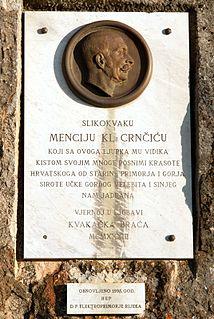Menci Clement Crnčić Croatian painter