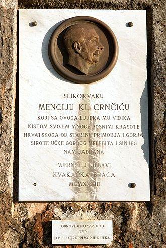 Menci Clement Crnčić - Image: Menci Klement Crncic Hreljin 08112012 3 roberta f
