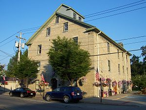 Mendon, New York - Mendon town hall