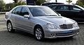 Mercedes-Benz C 230 Elegance (W 203, Facelift) – Frontansicht (1), 29. August 2011, Mettmann.jpg