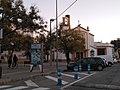 Mercedes Chilla junto a Iglesia de Santa Ana.jpg