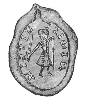 Mestwin I, Duke of Pomerania - Seal of Mestvinus dux Pomeraniae