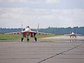 "MiG-29 Aerobatic team ""STRIZHI"" (""The Swifts"") (4257746654).jpg"