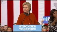 File:Michelle Obama Stumps With Hillary Clinton as Presidential Race Tightens.webm