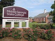 Middle Georgia State College WR
