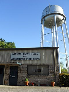 Midway, Alabama Town in Alabama, United States
