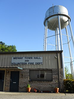Midway Town Hall & Volunteer Fire Department