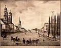 Miensk, Vysoki Rynak. Менск, Высокі Рынак (H. Hierasimovič, 1839) (2).jpg