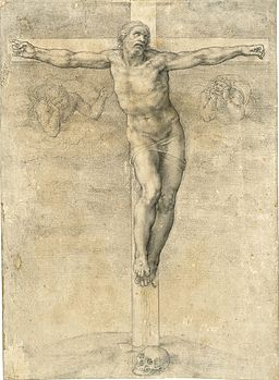 Miguel Angel Crucifixion drawing.jpg