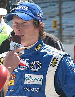 Description de l'image Mike Conway 2009 Indy 500 Bump Day.JPG.
