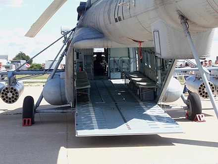 Croatian Mi-171Sh with a ramp cargo door - Mil Mi-17