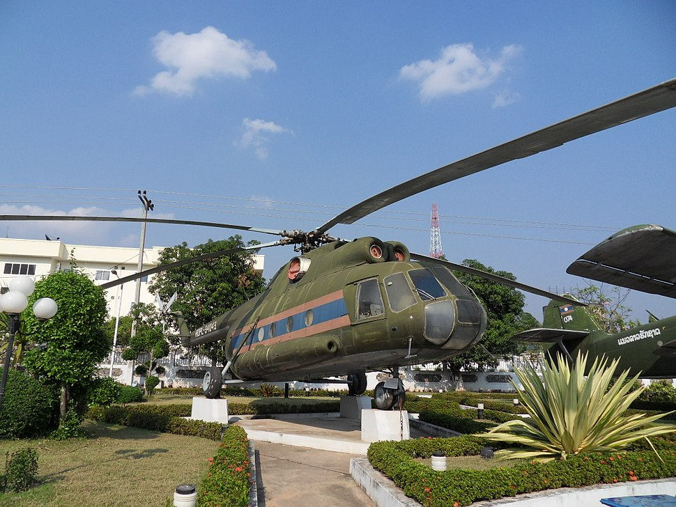 Mil Mi-8 Vientiane