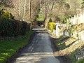 Mill Lane looking down towards Guilsfield Brook - geograph.org.uk - 806291.jpg