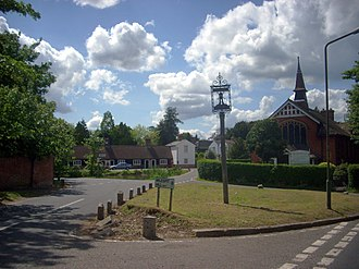 Mill Hill - Image: Mill hill village 2009