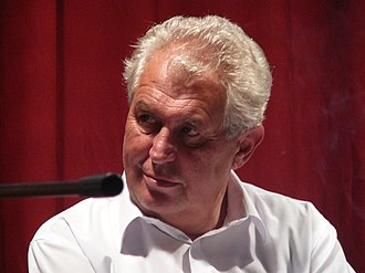 2003 Czech presidential election - Miloš Zeman was unexpectedly knocked out after coming third in the first vote of the second ballot.