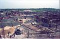 Mini and Main Auditoria Under Construction - Convention Centre Complex - Science City - Calcutta 1994-09-26 436.JPG