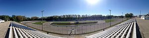 Madison International Speedway - Panoramic view of the track in the fall of 2014.