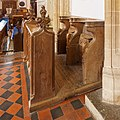 Misericord Stalls, North, Church of St Peter and St Paul, East Harling.jpg
