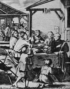 Bedřich Bridel - Bridel re-catholicizing the Czech people