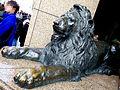 Mitsukoshi Ginza Lion.JPG