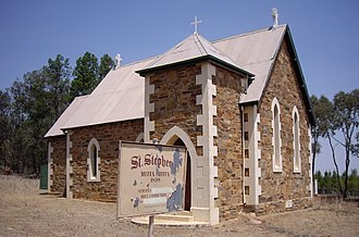 Mitta Mitta, New South Wales - St Stephen's Anglican Church