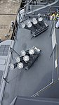 Mk.137 mod.2 chaff launcher(right) mounted on JS Fuyuzuki(DD-118) top view at JMSDF Maizuru Naval Base July 29, 2017.jpg