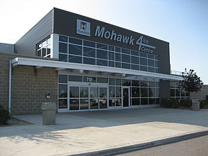 Mohawk Road (Hamilton, Ontario) - Mohawk 4 Ice Centre