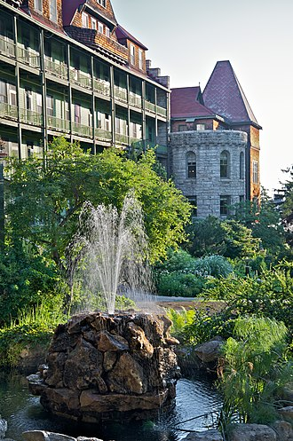 Mohonk Mountain House - Water fountain