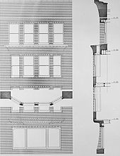 Monadnock building wikipedia for Bay window plan detail