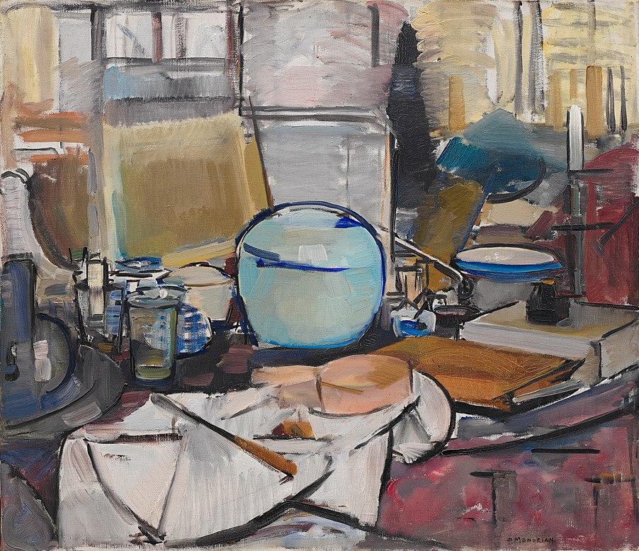 Mondrian, Still Life with Gingerpot I