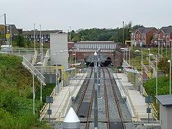 Monsall Metrolink station -Manchester, England-10Oct2012.jpg