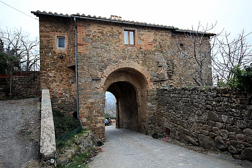 Montalcino Porta Burelli