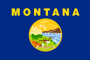 Delstatsflagg for Montana
