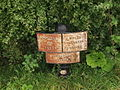 Montgomery Canal 12 mile milepost - geograph.org.uk - 580658.jpg