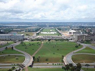 Ville Radieuse - Design of Brasilia – based upon the principles of the Ville radieuse