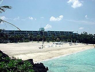 Onna, Okinawa - Moon Beach in Onna